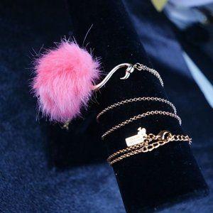 Kate Spade Firebird Hair Necklace
